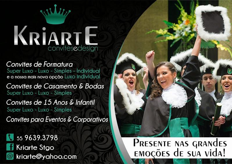 Kriarte - Convites e Design
