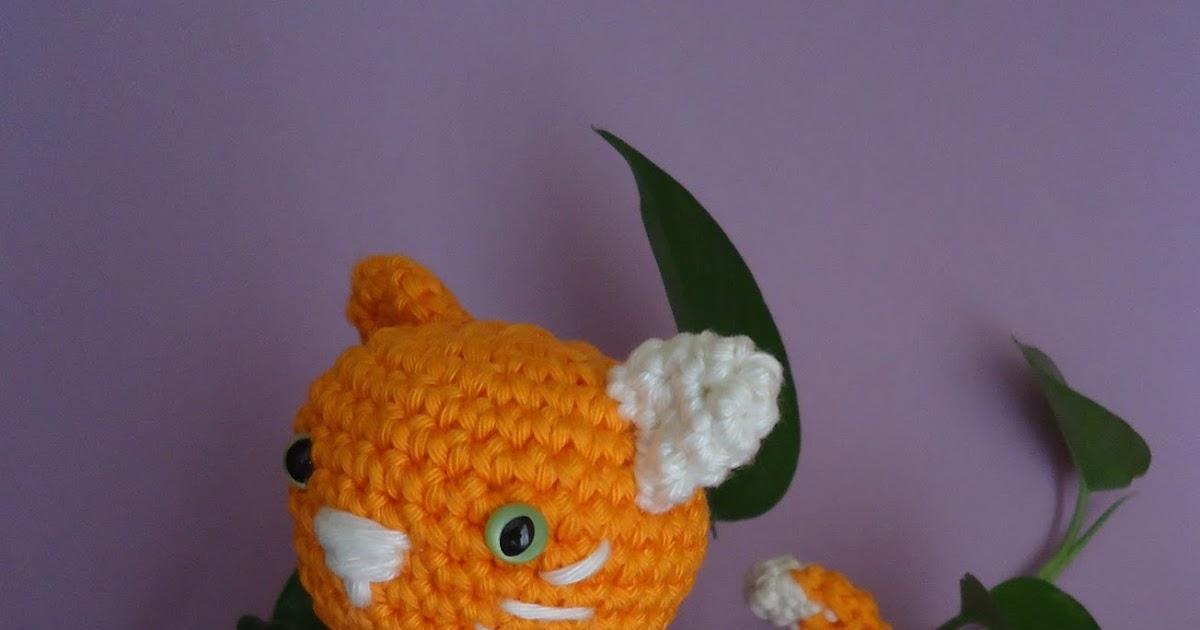 Dulces Ovillos: Gatito amigurumi - Crochet cat amigurumi