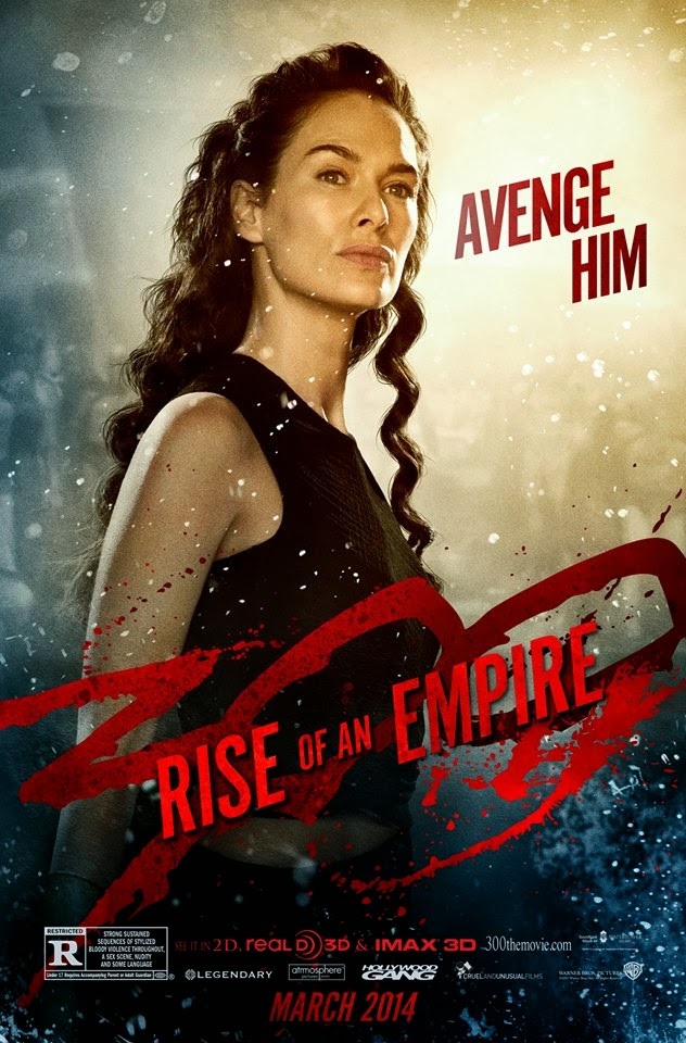 300: Rise Of An Empire Character Poster