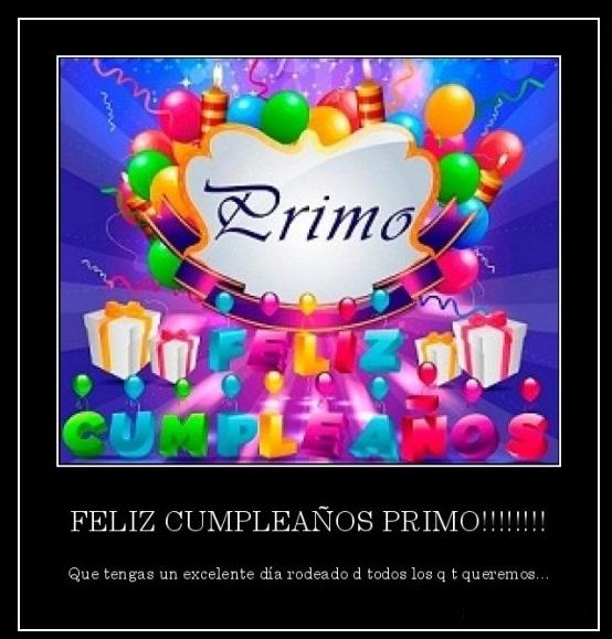 EL RINCON DE TRENZAS: ¡¡¡Feliz Cumpleaños Primo Pablo!!!