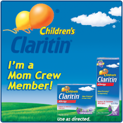 Children's Claritin Mom Crew Member