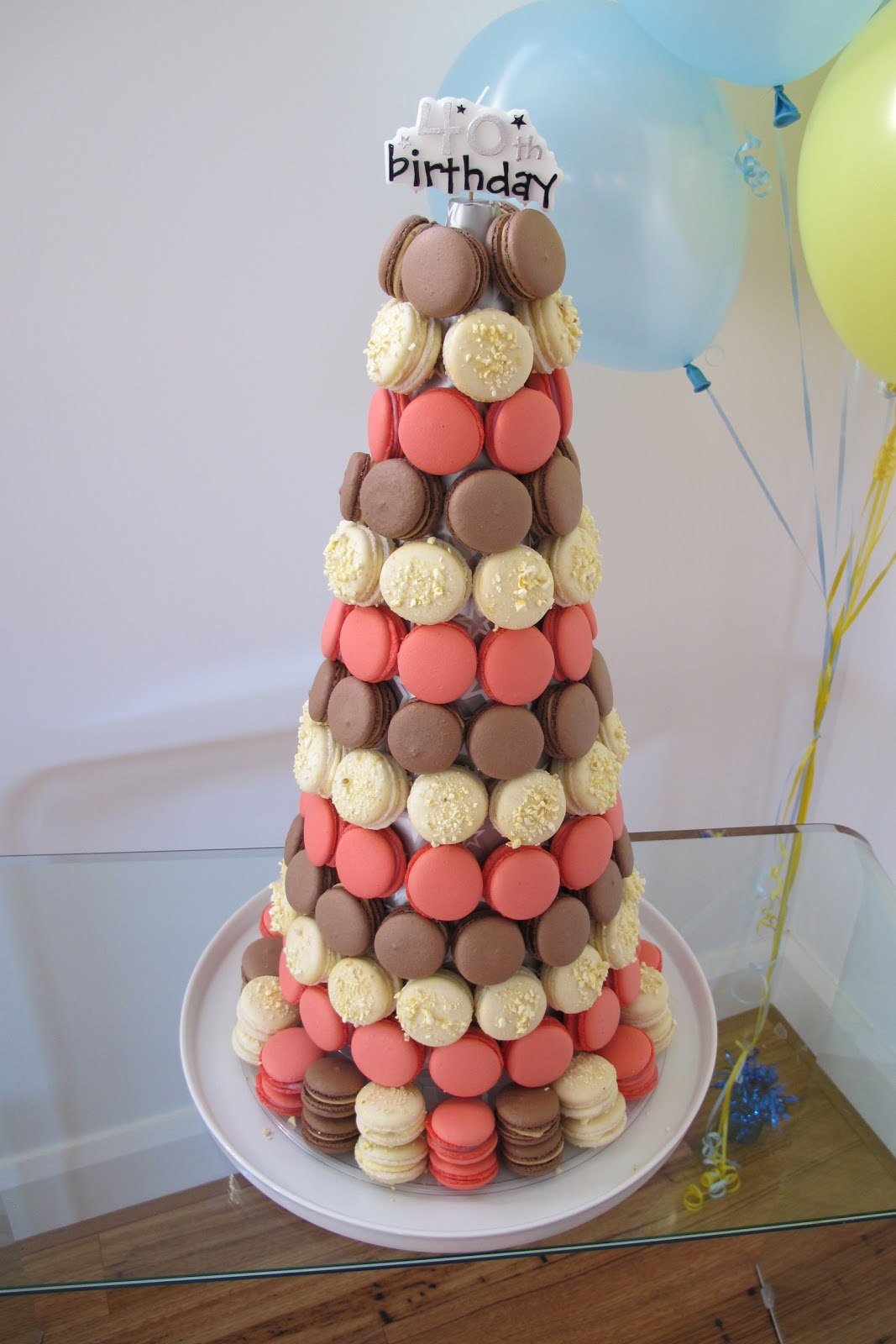 Alphie in the Kitchen: Zumbo-style macaron tower