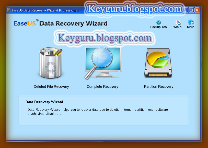 easeus data recovery wizard 5.8.5 serial number free