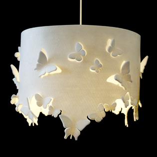 Decoraxpoco las lamparas de papel est n a la ltima - Lamparas con goma eva ...