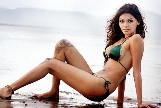 mona chopra bikini photos