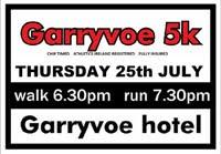 Charity 5k in East Cork - Thurs 25th July 2019