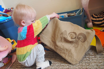 mushroombabybag - Works Great as a Diaper Bag