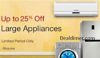 ACs, Washing Machines & Refrigerators Amazon