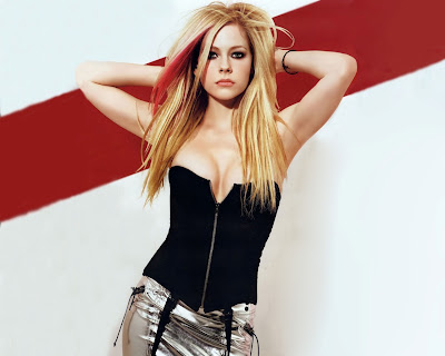 Singer Avril Lavigne HD Wallpaper