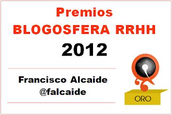 GANADOR Premios Blogosfera RRHH 2012
