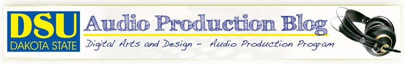 Audio Production Blog