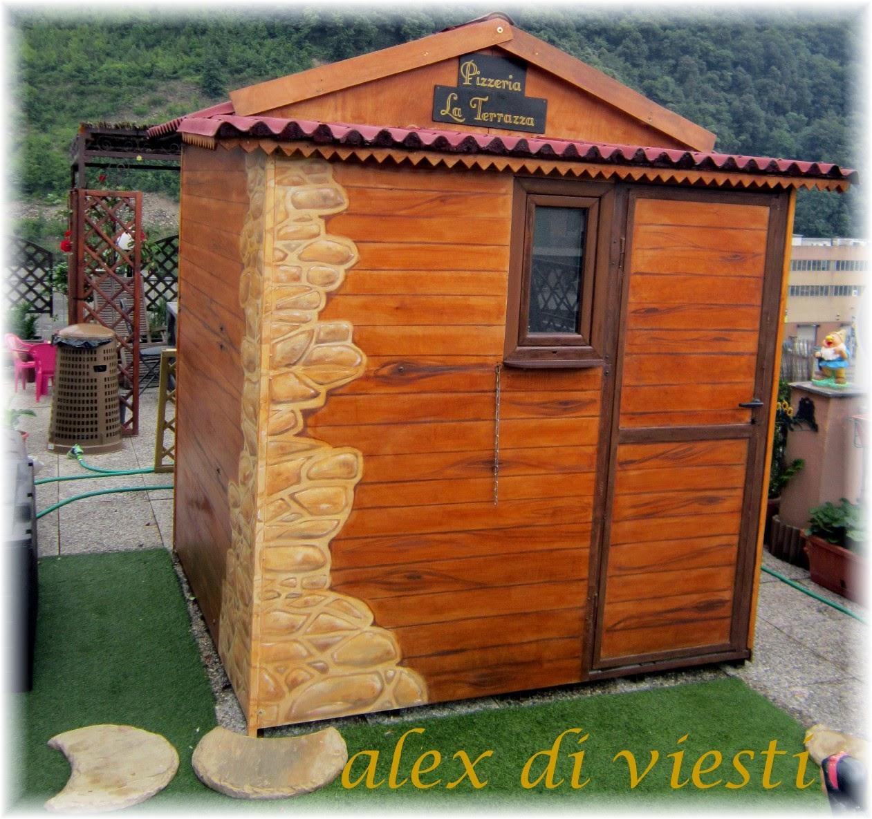Rugiada dipinta by alex di viesti marsano: restyling casetta in ...