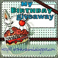 My Birthday Giveaway - by Dr. Shikin.