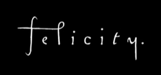 Black and white logo from Felicity television series.