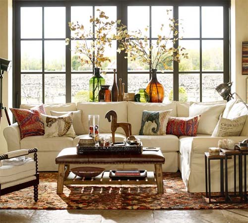 Decorative Pillows from Pottery Barn