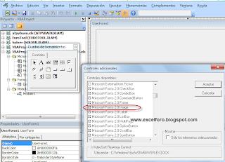 VBA: Cargar un gráfico en un Formulario de Excel.