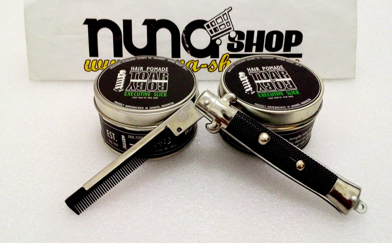 Original Pomade Lokal Made In Indonesia Jakarta Toar Roby Executive Slick