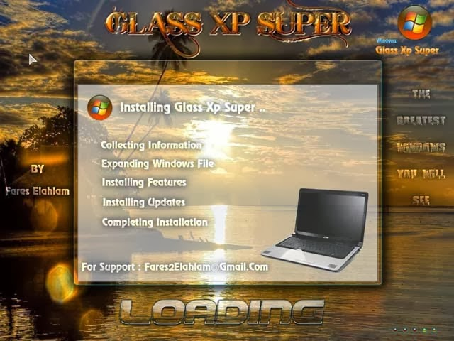 Windows Glass Xp SP 3 Super