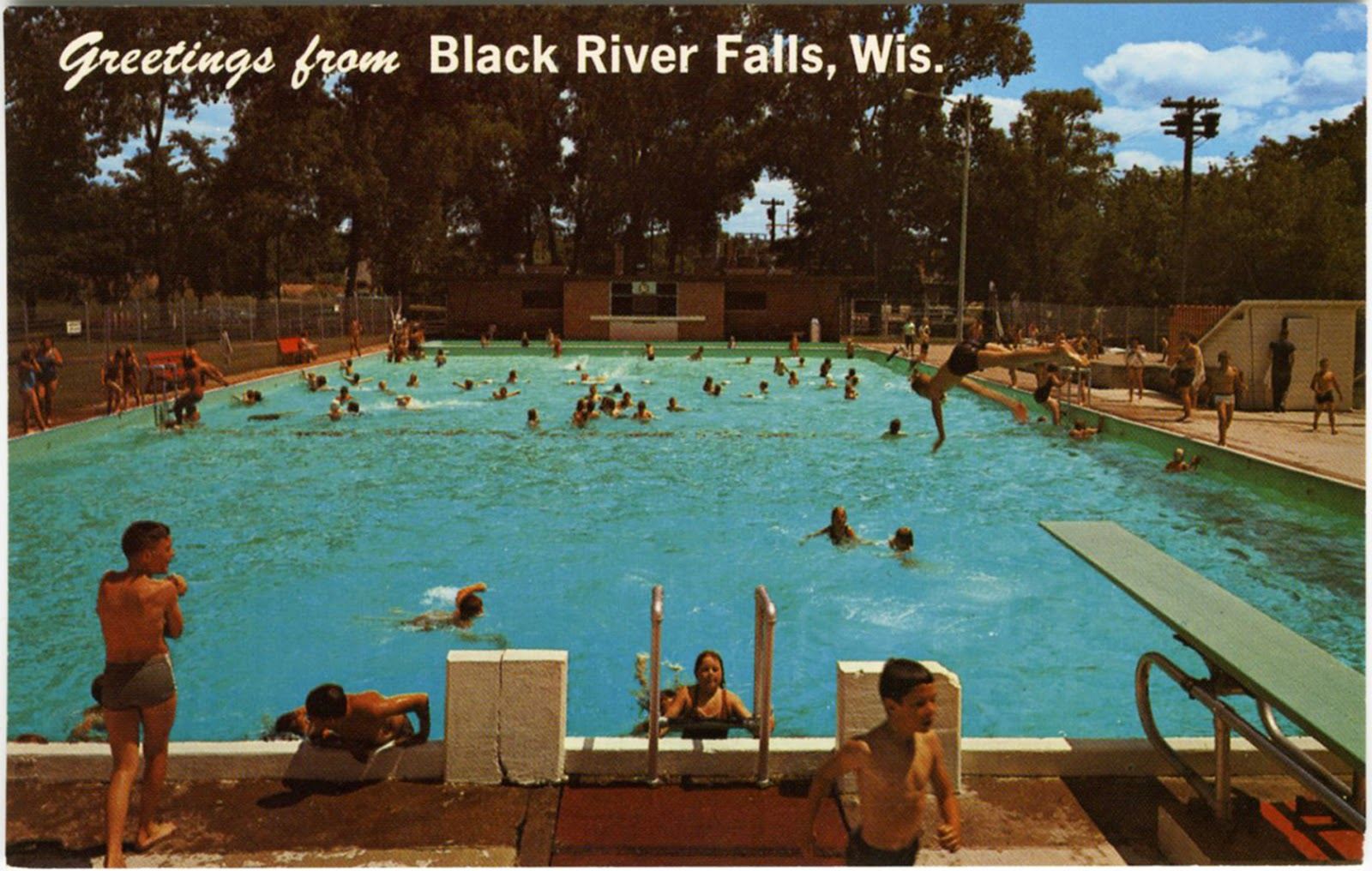 The Wisconsin Project Found Greetings From Black River Falls