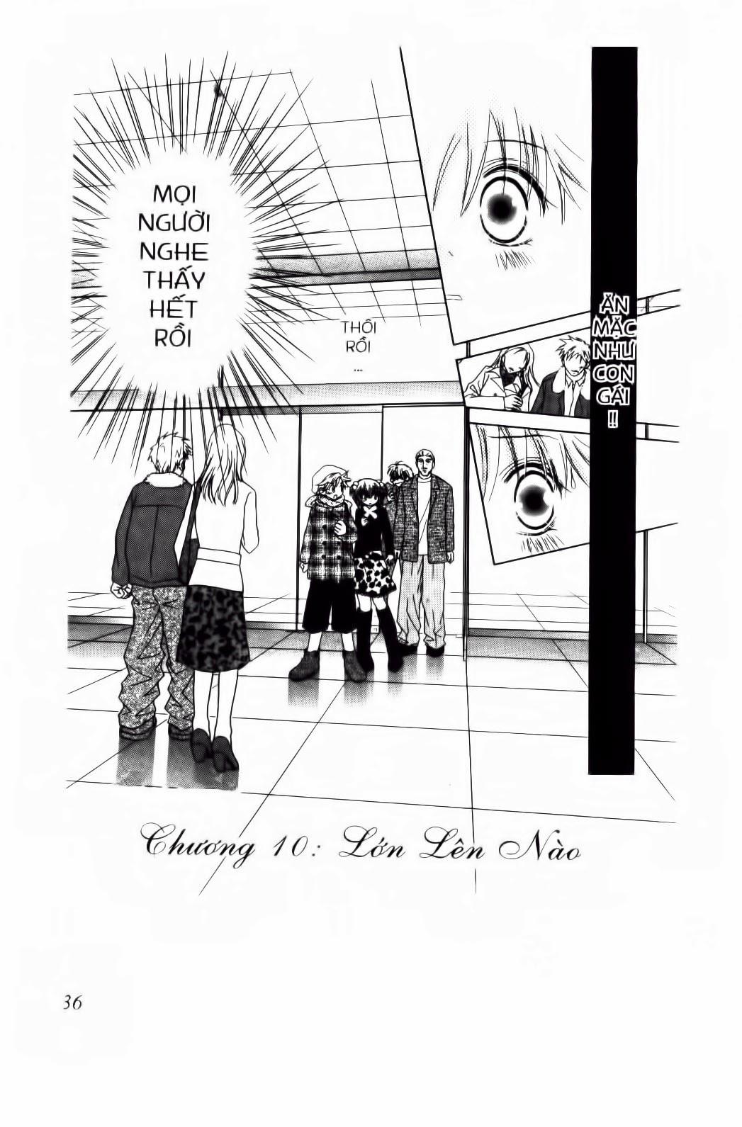 Chắp Cánh ước Mơ chap 59 - Trang 2