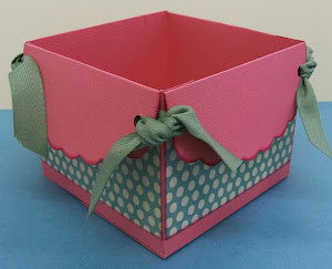 Mini Monday Project April 9 @10:00 AM, Scalloped Box, Fee $5
