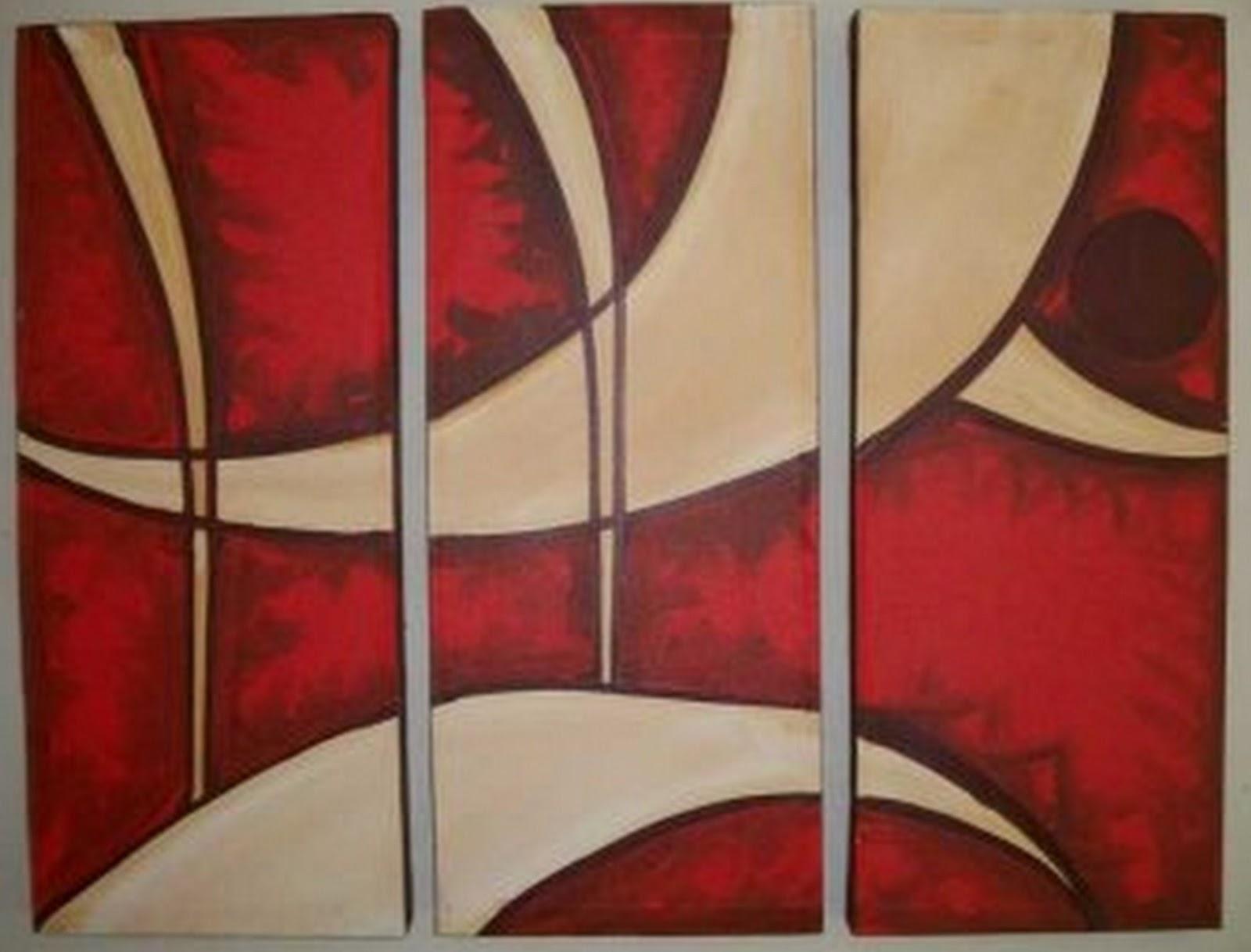 Cuadros modernos pinturas y dibujos cuadros f ciles de - Como hacer cuadros faciles en casa ...