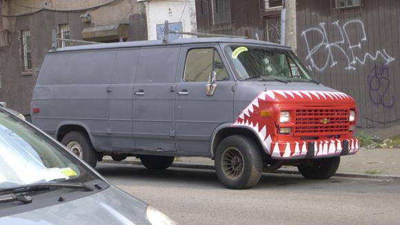 rooklyn Shark Art Van