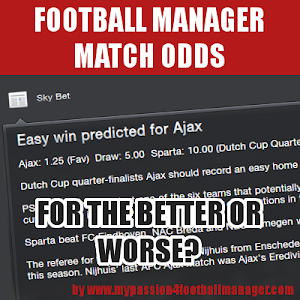 Football Manager Match Odds