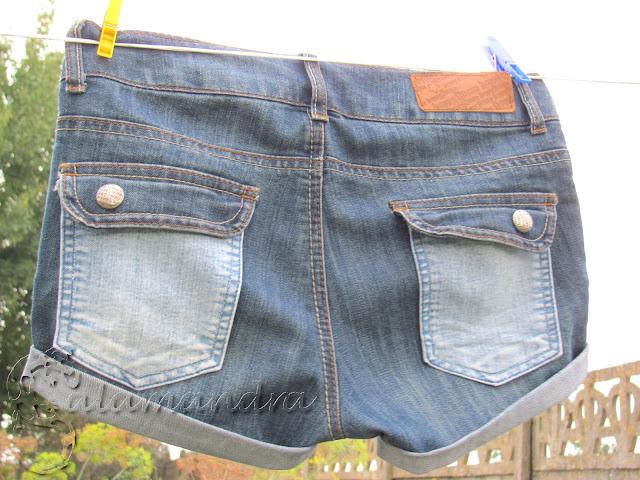 jak przerobić stare dżinsy