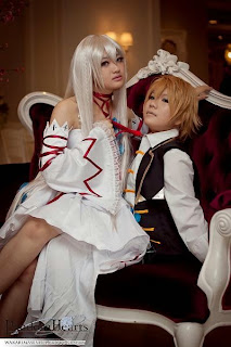 Celine and Melisa cosplay for Pandora Hearts
