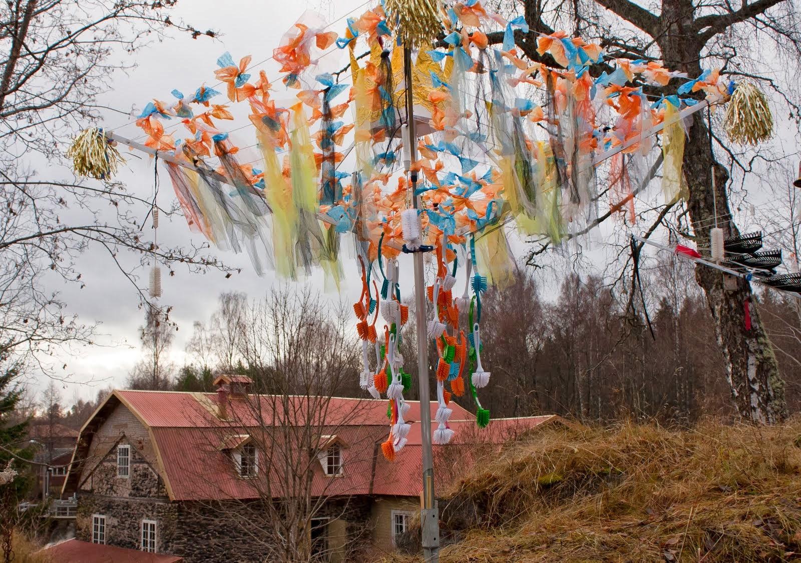 Brudmarsch vid kvarnen i Sunnansjö
