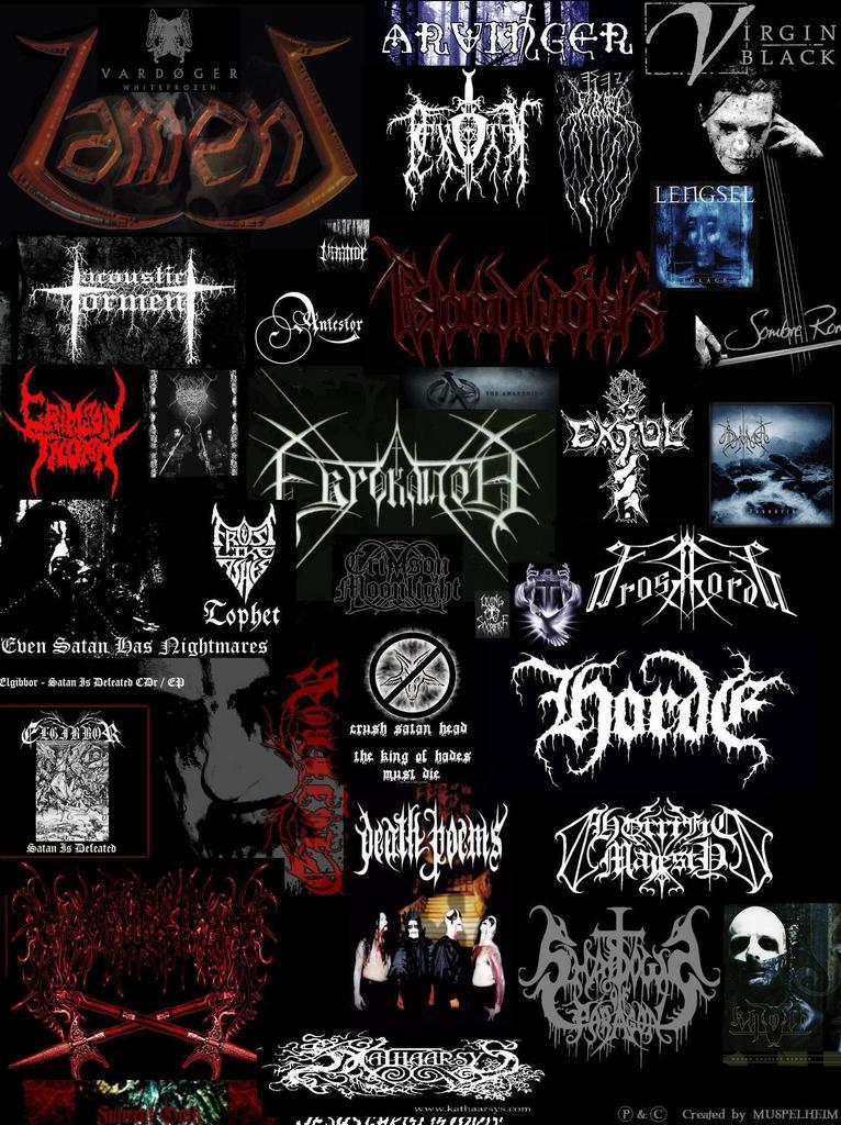 Black Metal Wallpaper. Black Metal, Sebuah Musik Atau