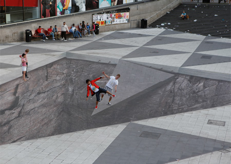 Creative 3D Illusion Art [Stockholm, Sweden]