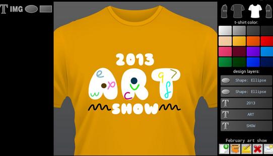 T-shirt Designer - Aplikasi Desain Baju Android