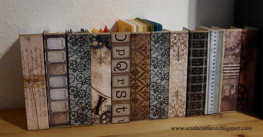 Stehsammler design  Scidacotheca: Stehsammler für Briefumschläge