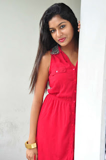 Akshita new actress in sizzling Red Short Dress Spicy Stills Must see Beauty