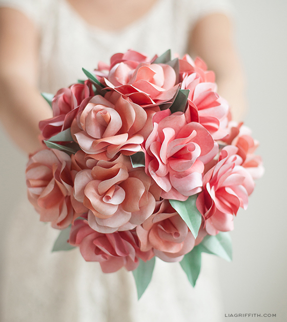 Bridal Bouquet Paper Flowers : Bugs and fishes by lupin awesome free paper flower