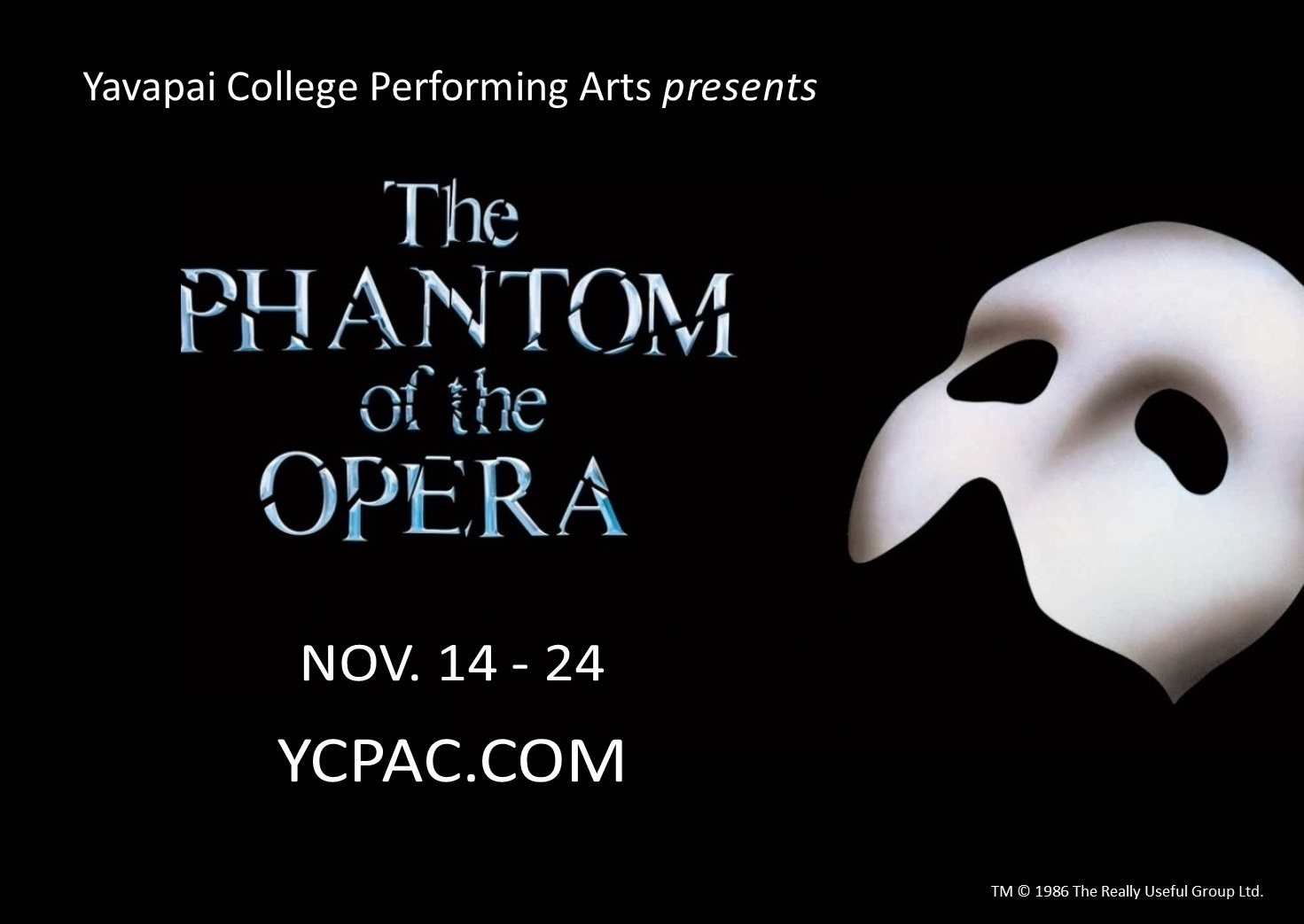 Yavapai College Performing Arts Center presents