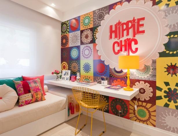 Projeto De Escrivaninha Para Quarto ~ Dicas de decora??o para quarto feminino  Mais Estilosa
