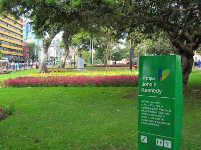 Parque de John Kennedy, Miraflores, Lima, Perú, La vuelta al mundo de Asun y Ricardo, round the world, mundoporlibre.com