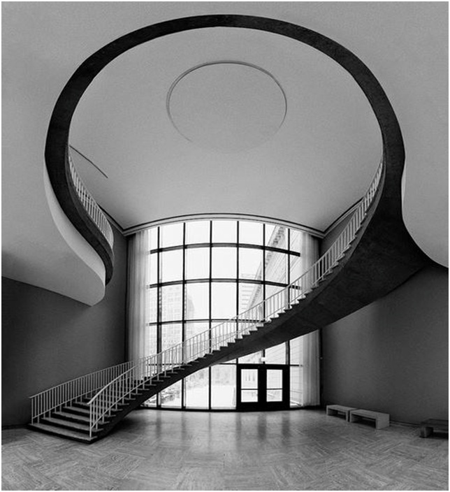 Staircase in the Art Institute of Chicago