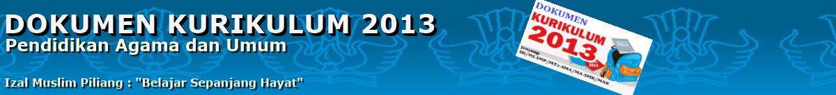 Dokumen Kurikulum 2013 Revisi Terbaru