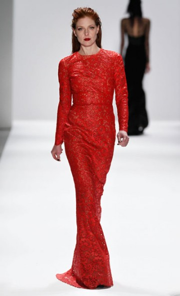 Fashion Herald: Carmen Marc Valvo Fall 2013