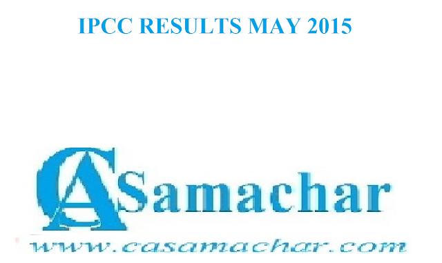 IPCC November 2015 Result Date