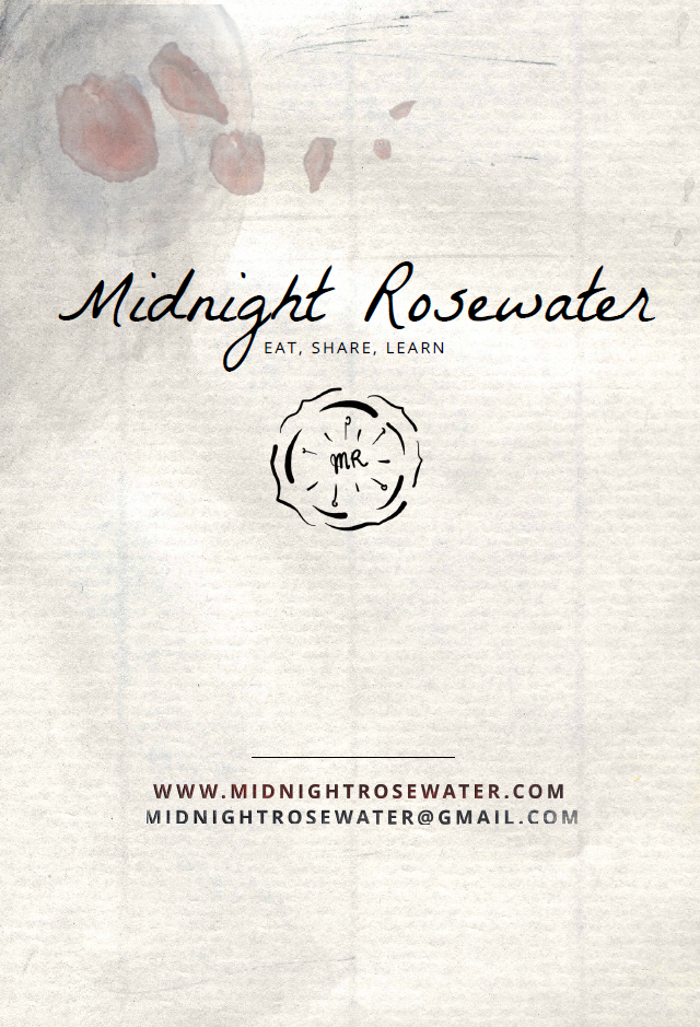 Midnight Rosewater Promo Art - back