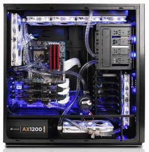 High end Gaming PC iBuyPower Erebus Series liquid-cooled