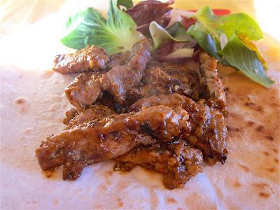 straccetti di carne speziata
