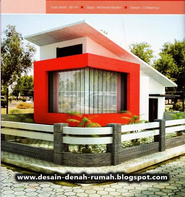 Desain Minimalis Rumah Hook di Pojok Jalan & Desain Minimalis Rumah Hook di Pojok Jalan ~ Desain Denah Rumah ...