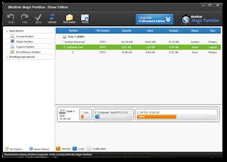 Download  MiniAide Magic Partition Home Edition 5.5 FreeWare