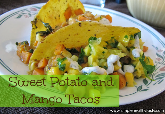 Sweet Potato and Mango Tacos
